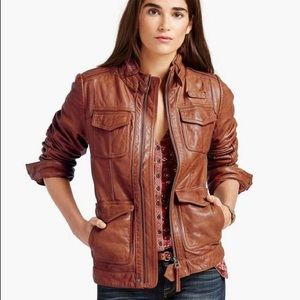 New! Lucky Brand • Endless Leather Jacket